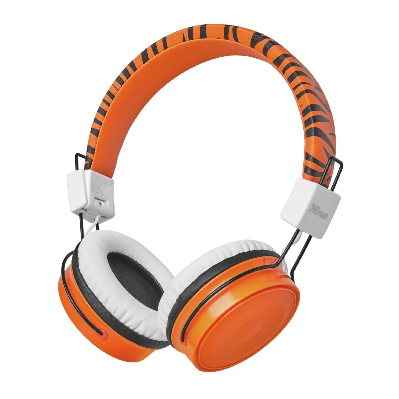 TRUST Comi Bluetooth Wireless Kids Headphones - orange