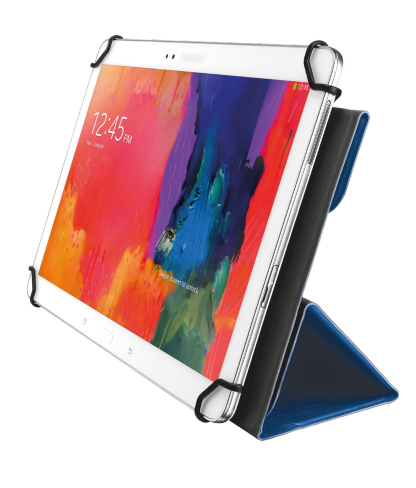 TRUST Aexxo Universal Folio Case for 10.1'' tablets - blue - 21205