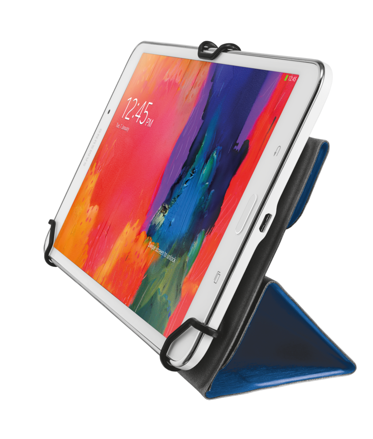 "TRUST Aexxo Universal Folio Case for 9.7"" tablets - blue"