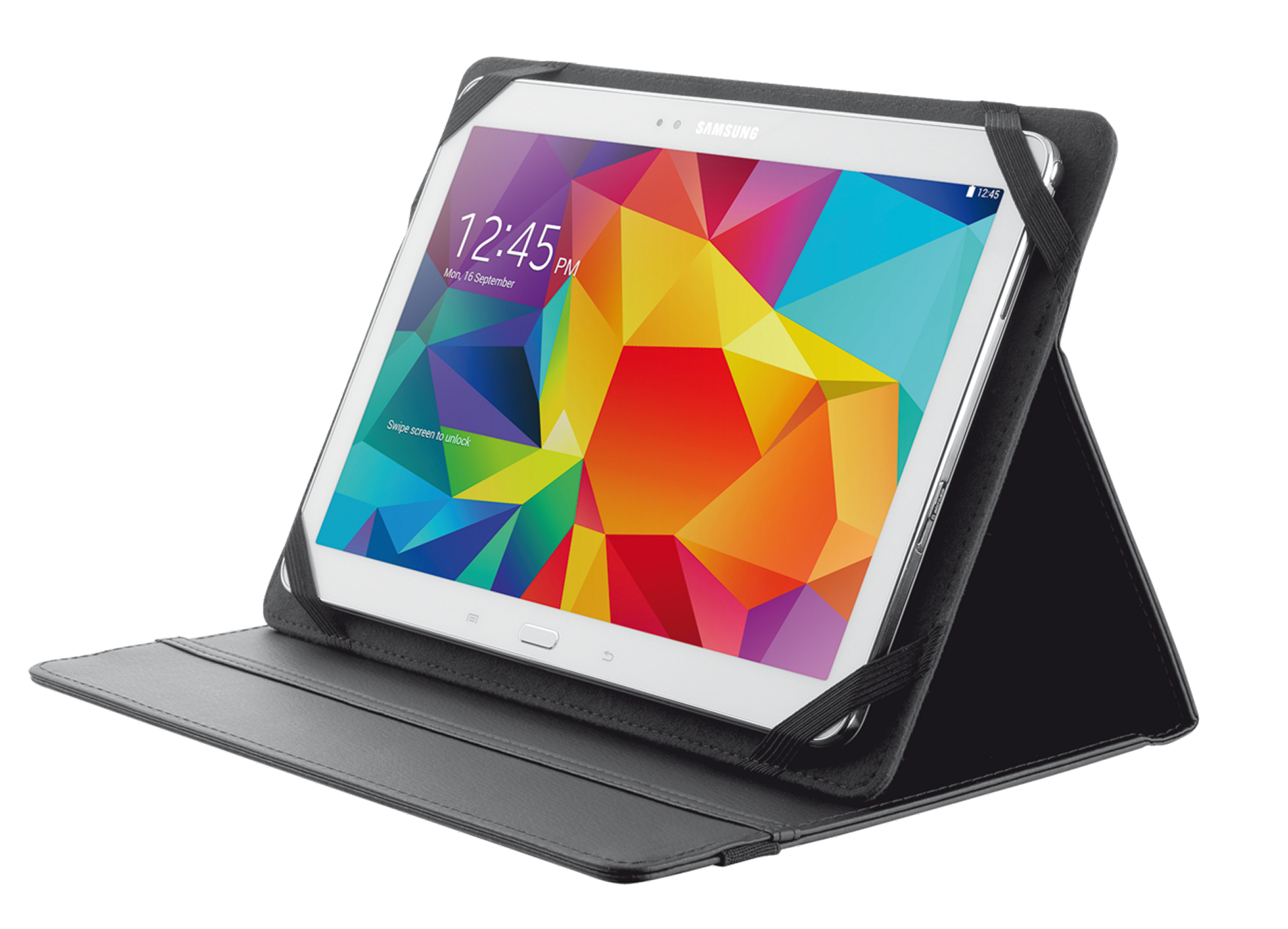 TRUST Primo Folio Case with Stand for 10'' tablets - black - 20058