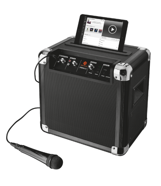 TRUST Urban Fiësta Go Wireless Party Speaker