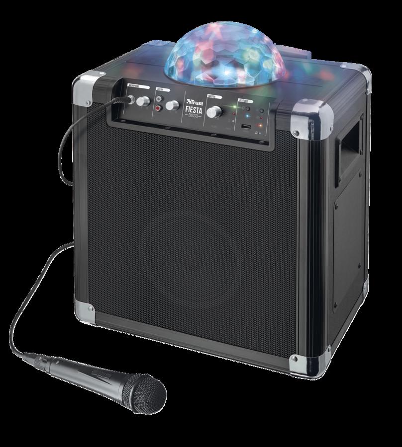 TRUST Urban Fiëst Disco Wireless Speaker with party lights