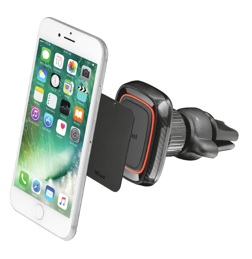 TRUST Veta Magnetic Car Holder for smartphones
