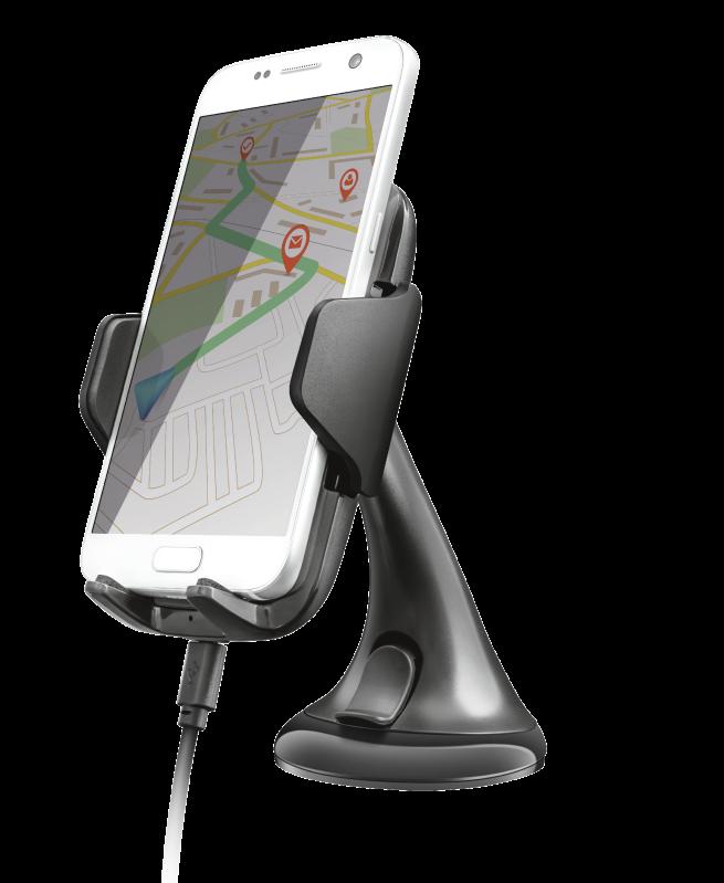 TRUST YUDO10 Wireless Fast-charging Car Phone Holder