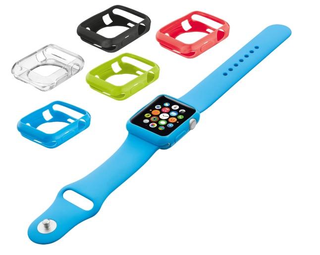TRUST Silikonová pouzdra pro Apple Watch 38mm (5 kusů - 5 barev)