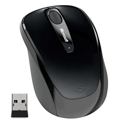 Microsoft Wireless Mobile Mouse 3500, černá - GMF-00292