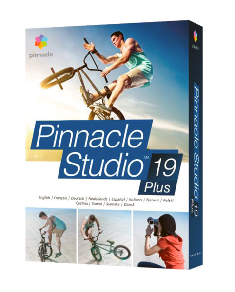 Pinnacle Studio 19 Plus CZ