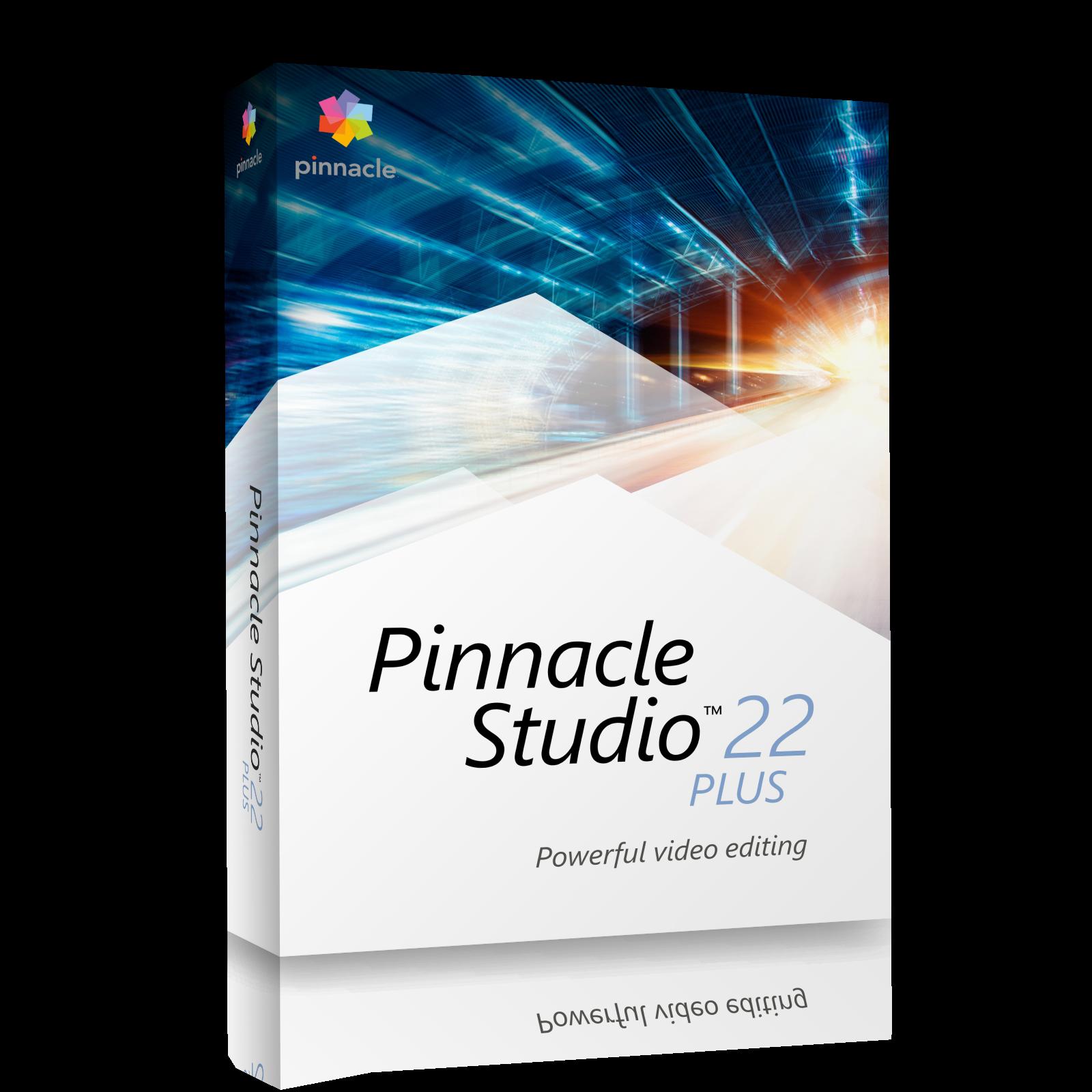 Pinnacle Studio 22 Plus ML EU