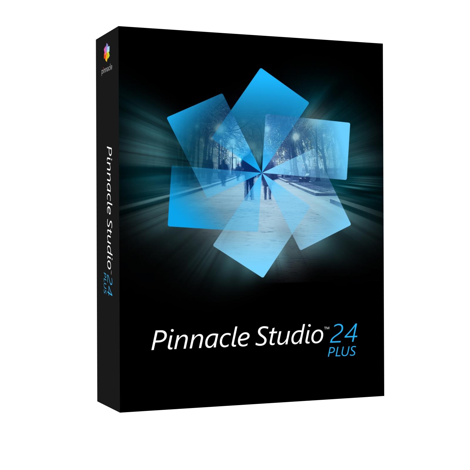 Pinnacle Studio 24 Plus (box) CZ - PNST24PLMLEU