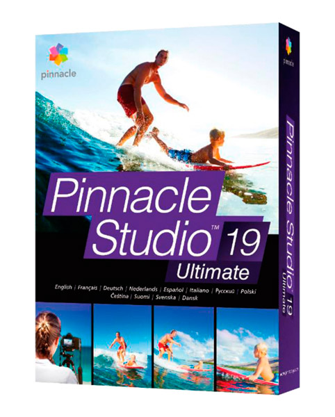Pinnacle Studio 19 Ultimate CZ Upgrade