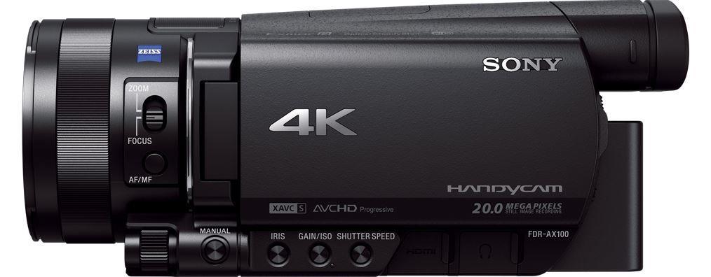 Sony UHD 4K (FHD) videokamera FDR-AX100E