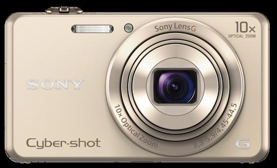 Sony DSC-WX220 zlatá,18,2Mpix,10xOZ,fullHD,WiFi