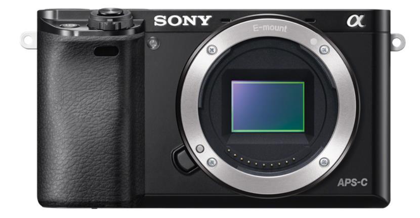 Sony A6000, jen tělo, 24,3Mpix, černý