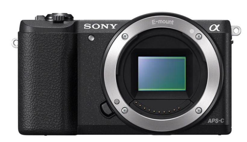 Sony A5100, jen tělo, 24,3Mpix, černý