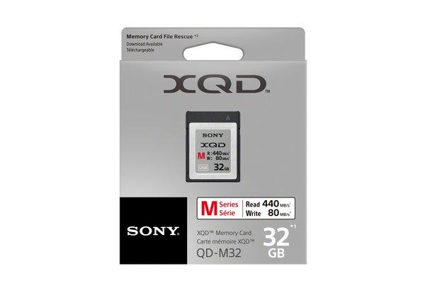 Sony XQD paměťová karta QDM32, 32GB, až 440MB/s