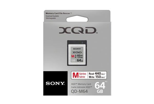 Sony XQD paměťová karta QDM64, 64GB, až 440MB/s