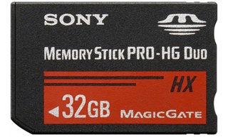 Sony Memory Stick Pro DUO High Grade MSHX32B