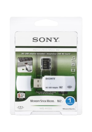New Sony Memory Stick Micro M2 MSA-1GU