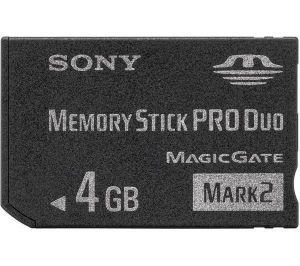 SONY Memory Stick Pro DUO MSMT4G až 60MB/s