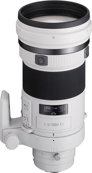 Sony teleobjektiv 300mm SAL-300F28G pro ALPHA