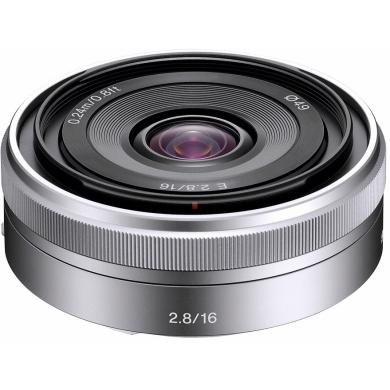 Sony objektiv SEL-16F28, 16mm pro NEX