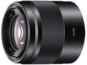 Sony objektiv SEL-50F18B,50mm,F1,8,černý pro NEX - SEL50F18B.AE