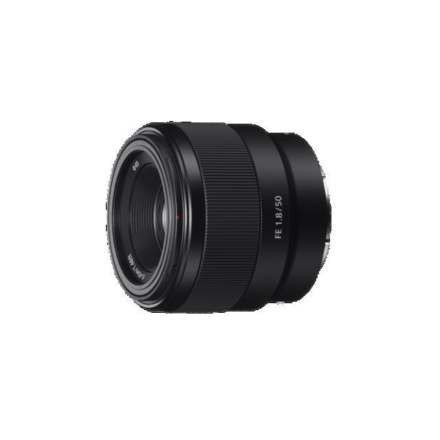 Sony objektiv SEL-50F18F, 50mm, Full Frame, bajonet E - SEL50F18F.SYX