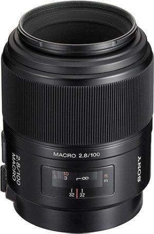 Sony makro objektiv 100mm SAL-100M28 pro ALPHA