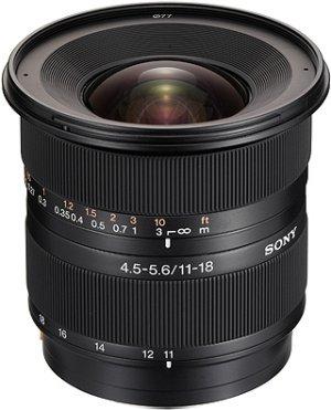 Sony objektiv 11-18mm SAL-1118 pro ALPHA