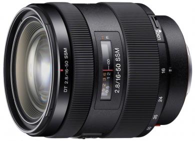 Sony objektiv 16-50mm pro ALPHA, F2,8 SSM