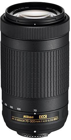 Nikon obj. 70-300MM F/4.5-6.3G ED AF-P DX