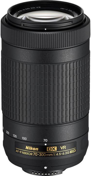 Nikon obj. 70-300MM F/4.5-6.3G ED AF-P DX VR