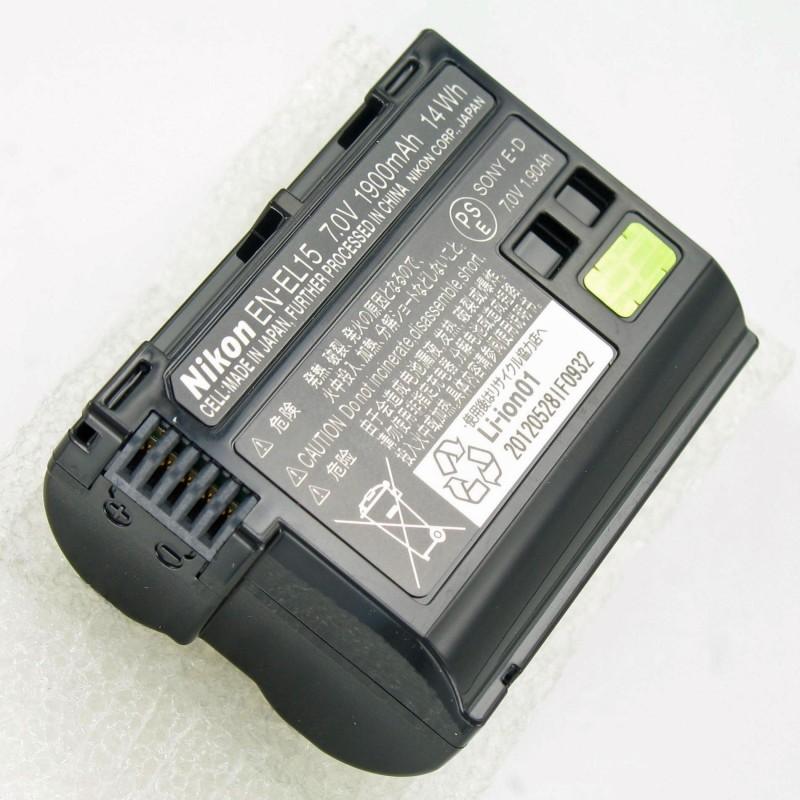 EN-EL15 DOB. BATERIE PRO D800//D600/D7000/V1
