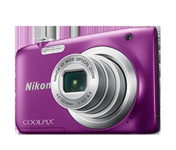 Nikon Coolpix A100 fialový, 20,1M, 5xOZ, HD Video