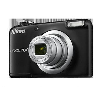 Nikon Coolpix A10 černý, 16,1M, 5xOZ, HD Video