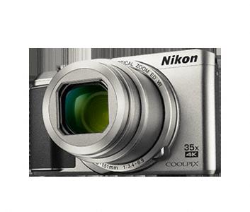Nikon Coolpix A900 střibr,20,3M, 35xOZ,4K UHDVideo