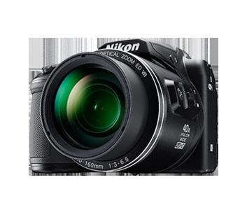 Nikon Coolpix B500 černý,16M,40xOZ,Full HD Video
