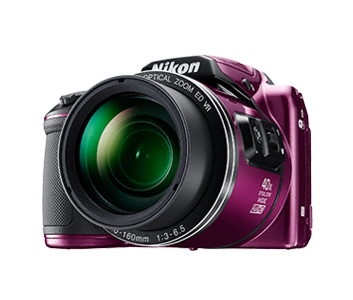 Nikon Coolpix B500 fialový,16M,40xOZ,Full HD Video