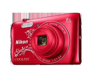 Nikon Coolpix A300 s ornamenty,20,1M 8xOZ,HD Video