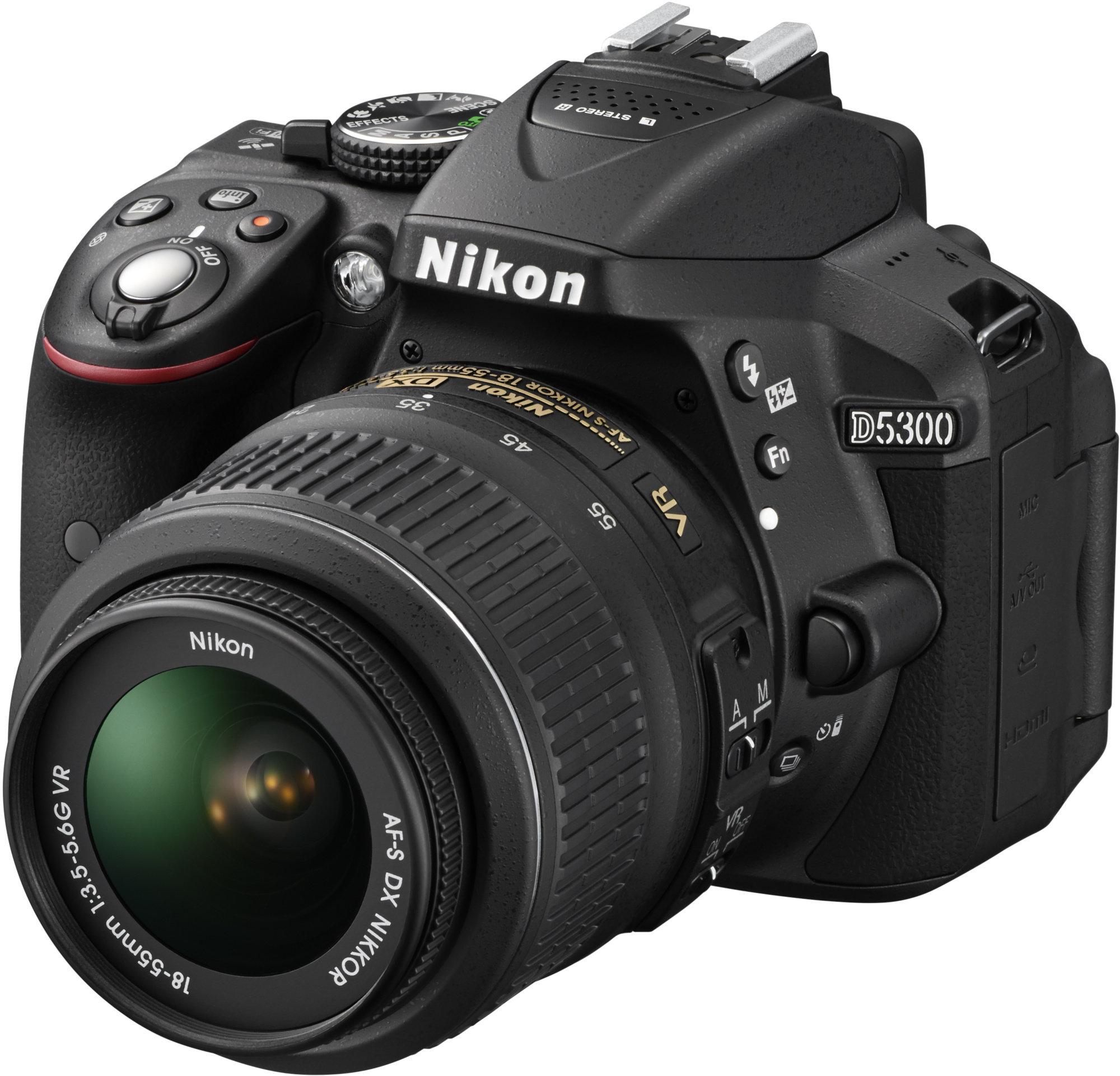 NIKON D5300 + AF-P 18-55 VR + 70-300 VR