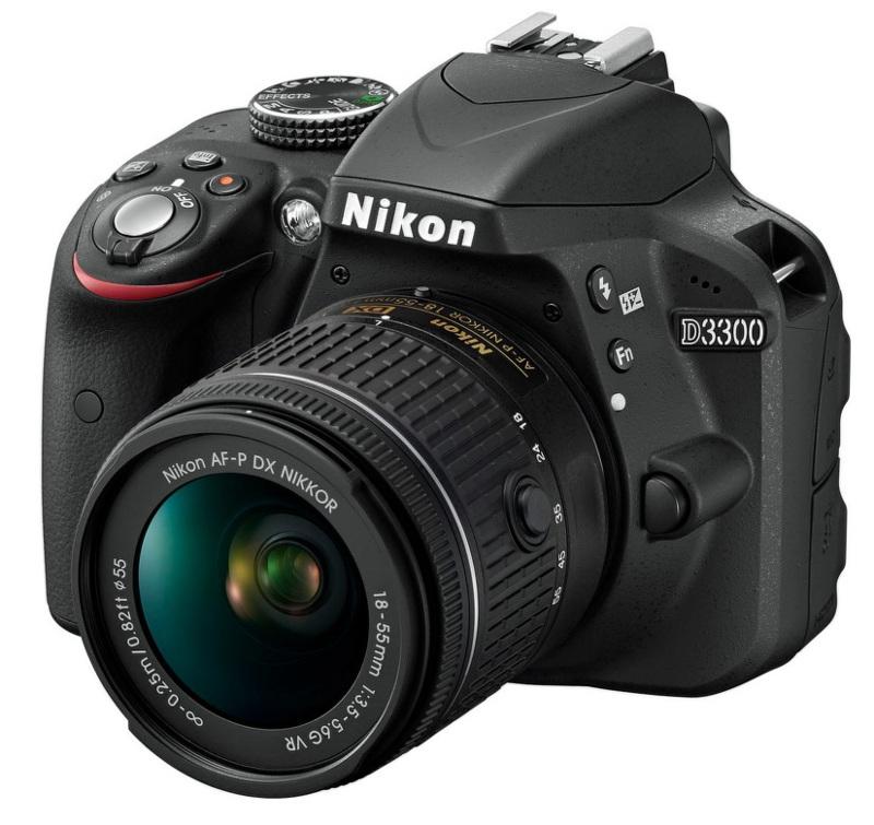 NIKON D3300 + AF-P 18-55 VR BLACK