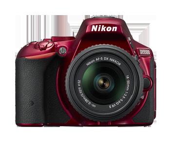 NIKON D5500 + AF-P 18-55 VR RED