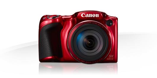 Canon PowerShot SX420 IS červený
