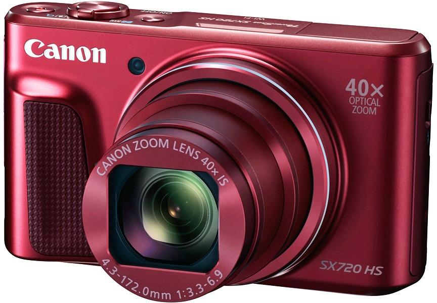 Canon PowerShot SX720 červený