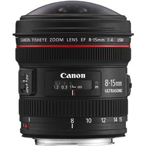 Canon objektiv EF 8-15mm f/4.0 L USM fisheye