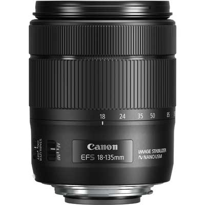 Canon objektiv EF-S 18-135mm f3,5-5,6 IS USM