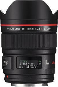Canon objektiv s pev.ohniskem 'EF 14mm f/2.8 L USM