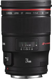 Canon objektiv s pev.ohniskem EF 24 1.4L II