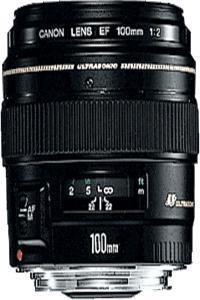Canon objektiv s pev.ohniskem 'EF 100mm f/2.0 USM