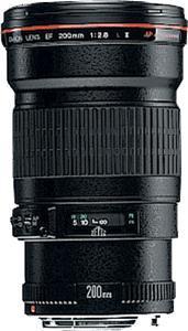 Canon objektiv s ohniskem EF 200mm f/2.8 L II USM